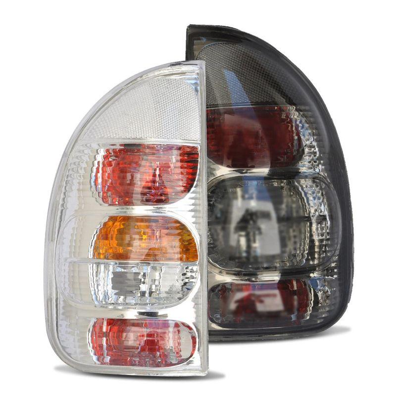 Lanterna Traseira Corsa Hatch Wagon Pick up Cromo e Fumê