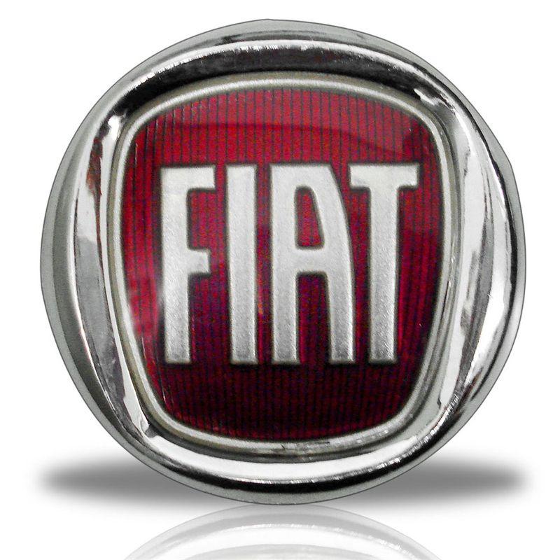 Novo Emblema Logo Tipo Fiat Vermelho Moderno Serve no Antigo