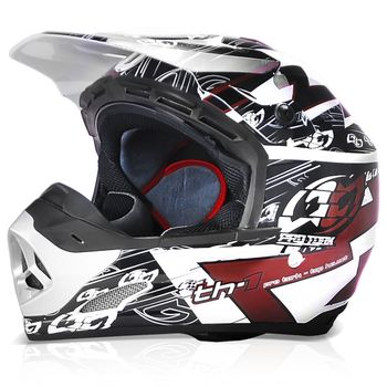 Capacete-Motocross-Pro-Tork-Th1-Eletric-Marron-Trilha-Enduro-1-