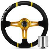 Volante-Shutt-Ds-1-Esportivo-Dourado-Ds1-Fiat-147---Cubo-Connect-Parts-1-