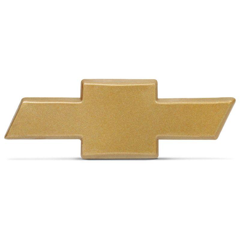 Emblema Chevrolet Gravata Dourada 7,0x2,5 Modelo Classic Celta