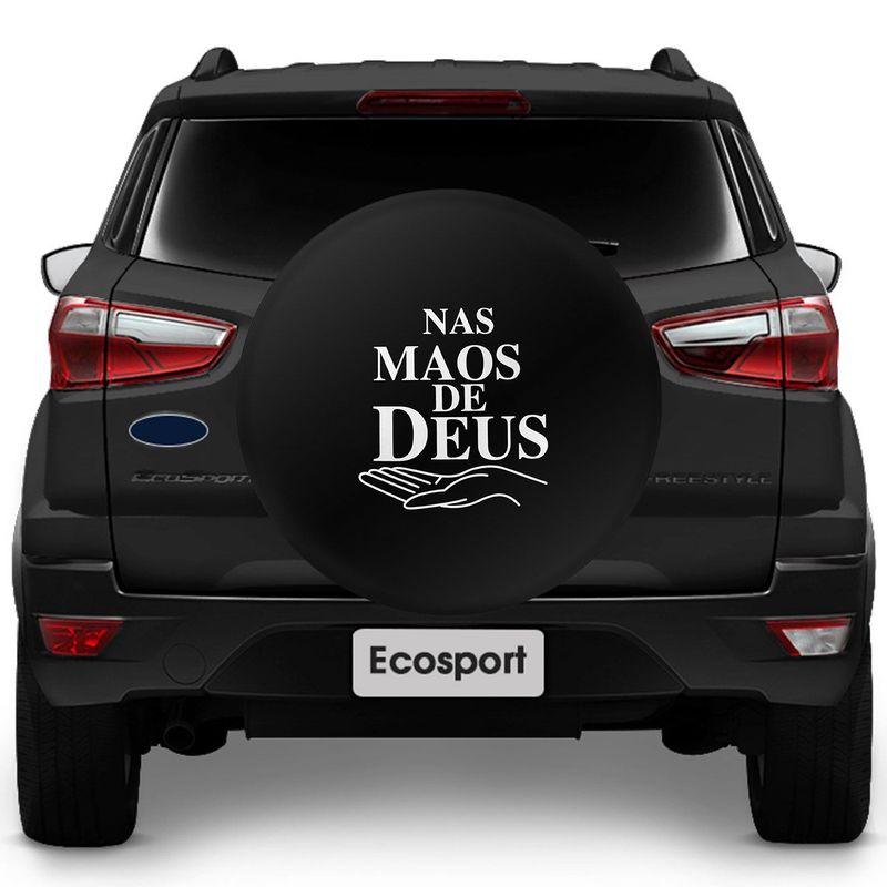 Capa de Estepe Ecosport Nova Ecosport 03 a 14 CrossFox 05 a 14 Nas Mãos de Deus
