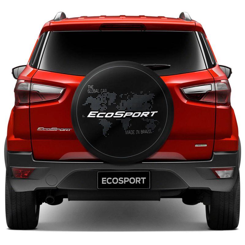 Capa de Estepe Global Branca Ecosport  Nova Ecosport CrossFox Aircross Doblô Idea