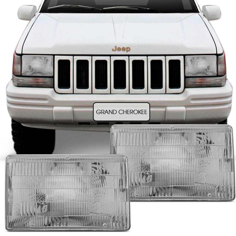 Farol Grand Cherokee 93 94 95 96 97 98 Foco Simples