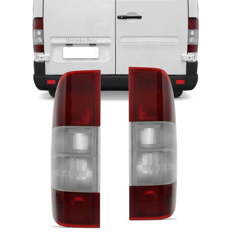 Lanterna Traseira Sprinter 03 a 09 Bicolor - Lado Direito + Lado Esquerdo