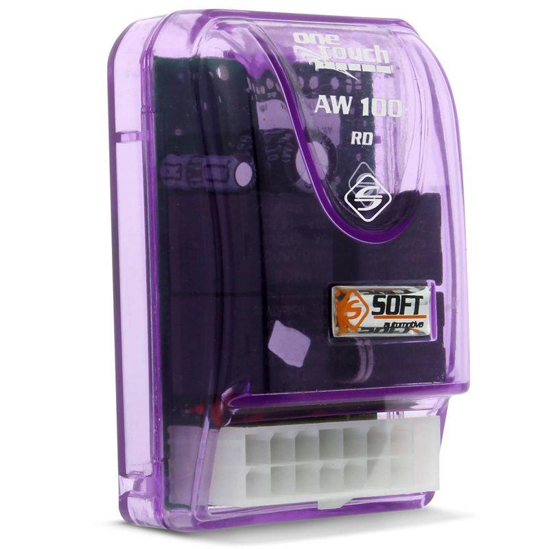 Módulo Vidro Elétrico Soft AW 100RD Universal 2 Portas Antiesmagamento