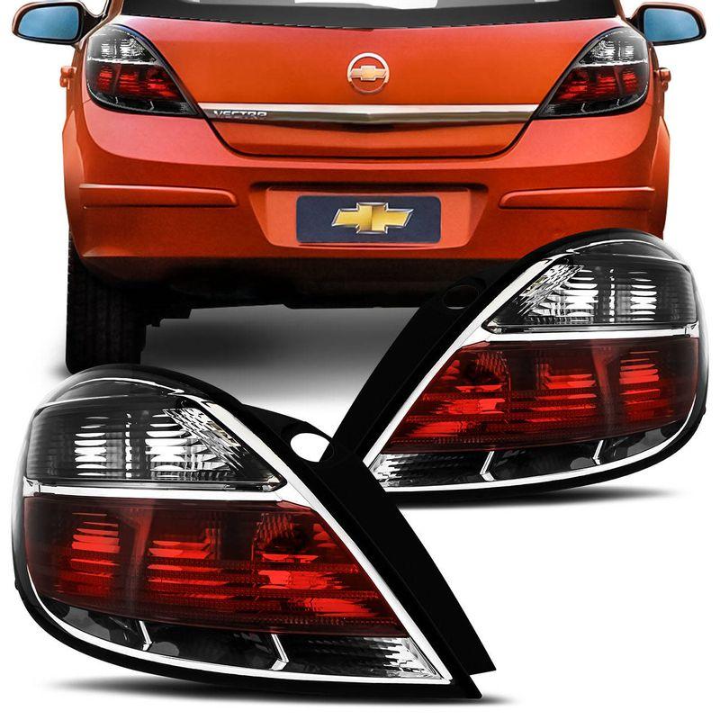 Lanterna Traseira Vectra GT GTX 08 a 12 Bicolor Fumê
