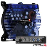 Modulo-Amplificador-vs400-4-mini-Azul--Mixer-P2-e-Microfone-Connect-Parts