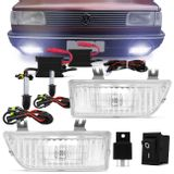 Kit-Farol-Milha-Gol-87-a-94---Kit-Xenon-H3-6000K-Extremamente-Branca-Connect-Parts--1-