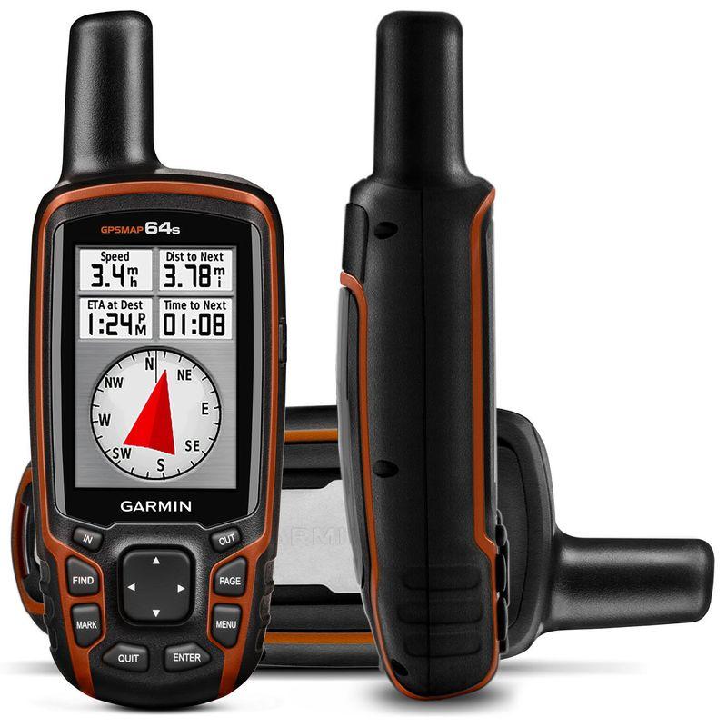 GPS Portátil Garmin 2,6 Polegadas Touch Receptor Glonass GPSMap 64s