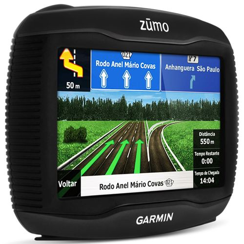 GPS Garmin Moto Zumo 4,3 Polegadas Touch Screen Bluetooth 390LM