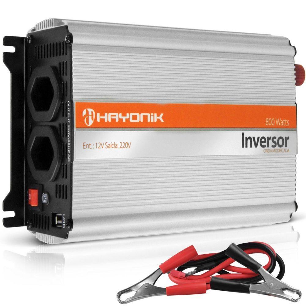 Inversor de tens o hayonik 800w conversor transformador - Transformador 220 a 12v ...