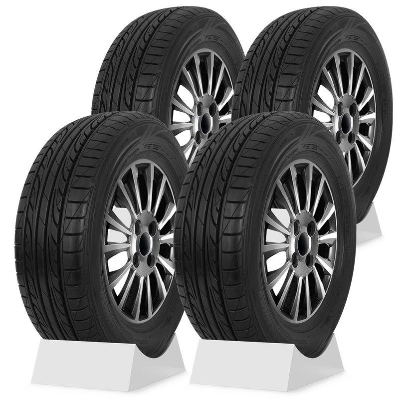 Jogo 4 Pneus Dunlop 195/60R15 88H Aro 15 Sport LM 704 Carro