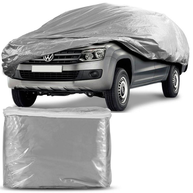 Capa Protetora Carro Pick-up Tamanho EG Cinza