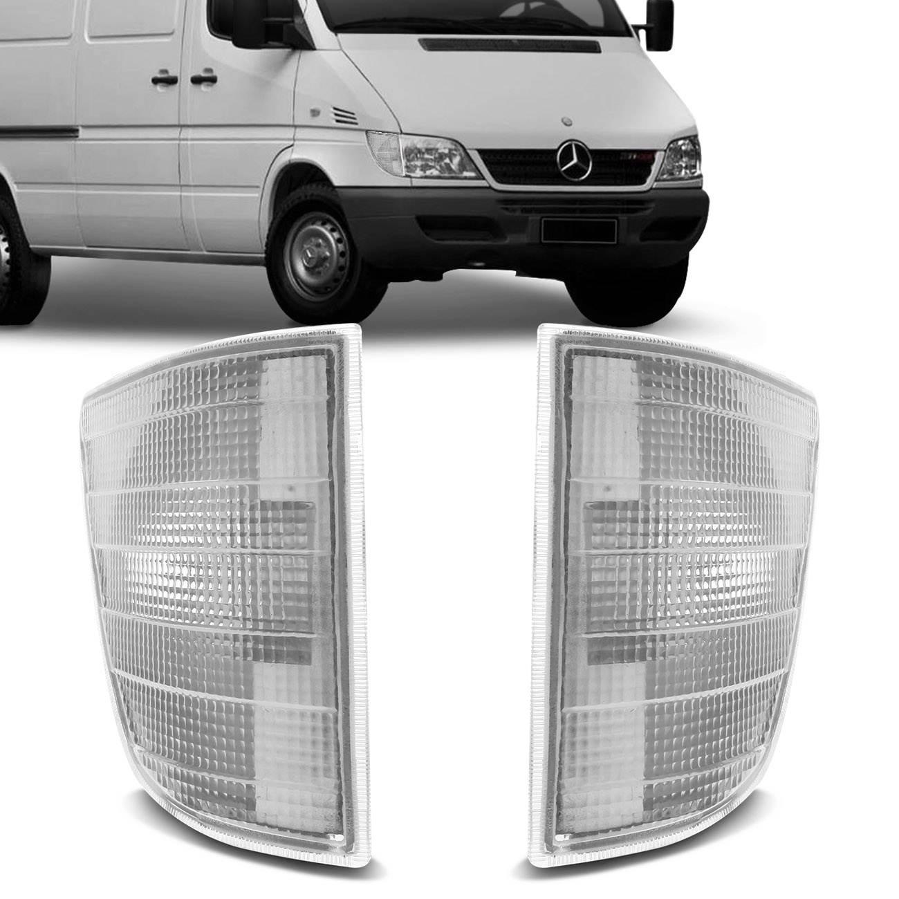 Lanterna Dianteira Pisca Sprinter 95 a 02 Cristal Lado Direito + Lado Esquerdo