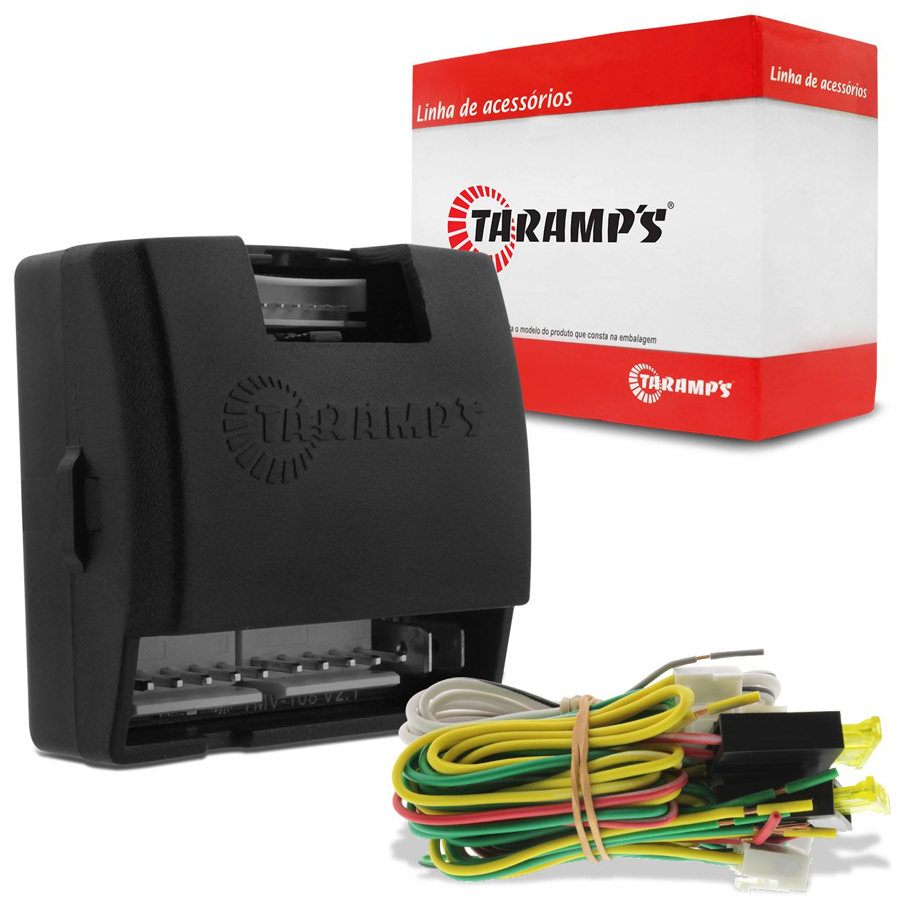 Módulo Subida Vidro Elétrico Taramps TMV 108 Universal 2 ou 4 Portas