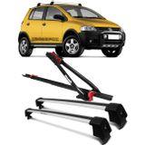 Kit-Rack-Teto-Travessa-Crossfox-04-a-14-Prata-4-Portas---Transbike-Universal--1-