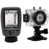 Sonar-Nautico-Garmin-Fishfinder-Echo-151-HD-ID---Filmadora-Hd-Prova-Dagua-connect-parts--1-
