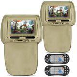 Par-Tela-Encosto-Cabeca-7-Pol-Bege-DVD-USB-SD-Fone-Game-Ziper-e-Controle-connect-parts--1-