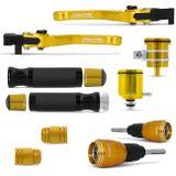 Kit-Evolution-Hornet-pesos-guidao-manetes-manoplas---reservatorio-oleo---Slider-dianteiro-Connect-Parts--1-