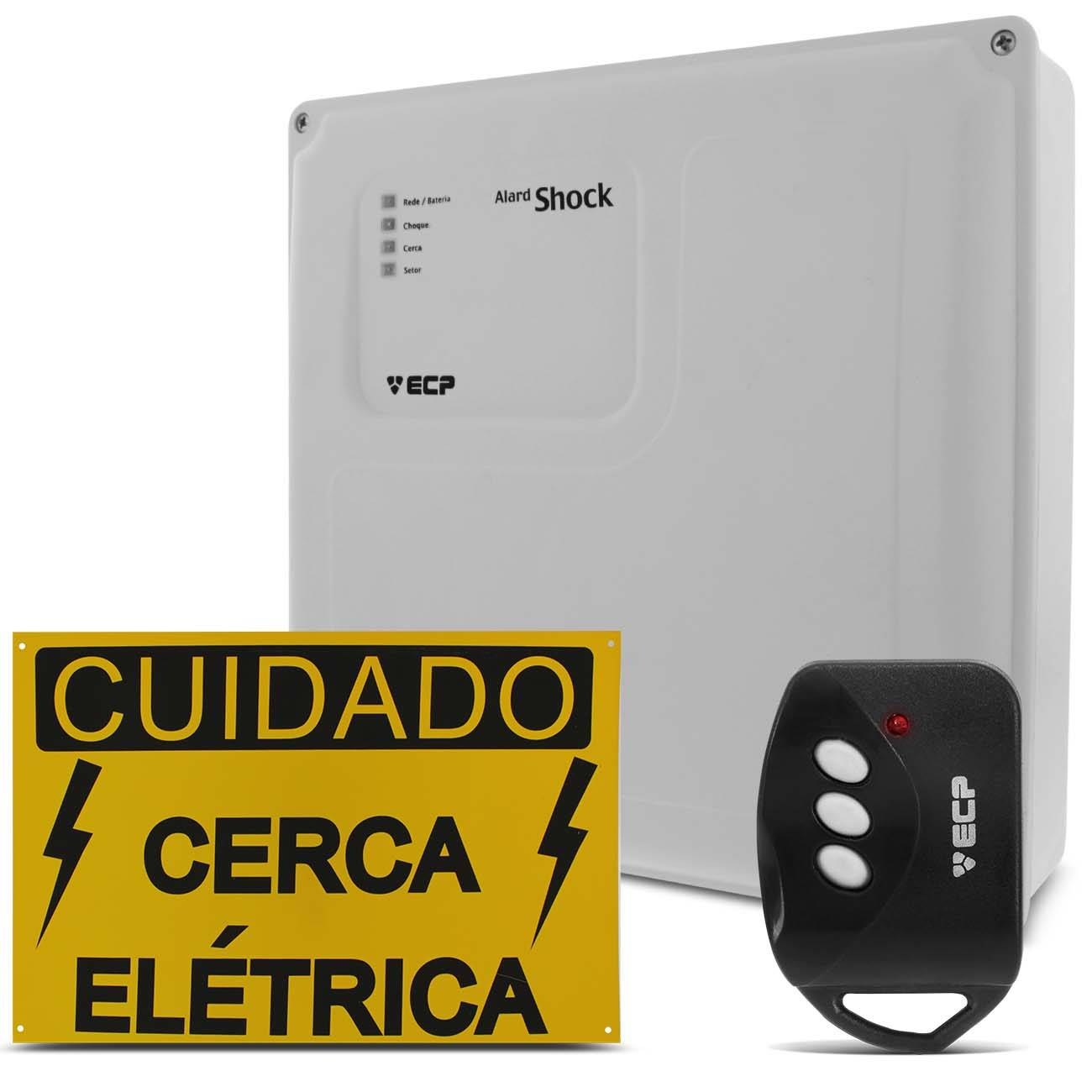 Central Painel Cerca Elétrica Ecp Alard Shock Control
