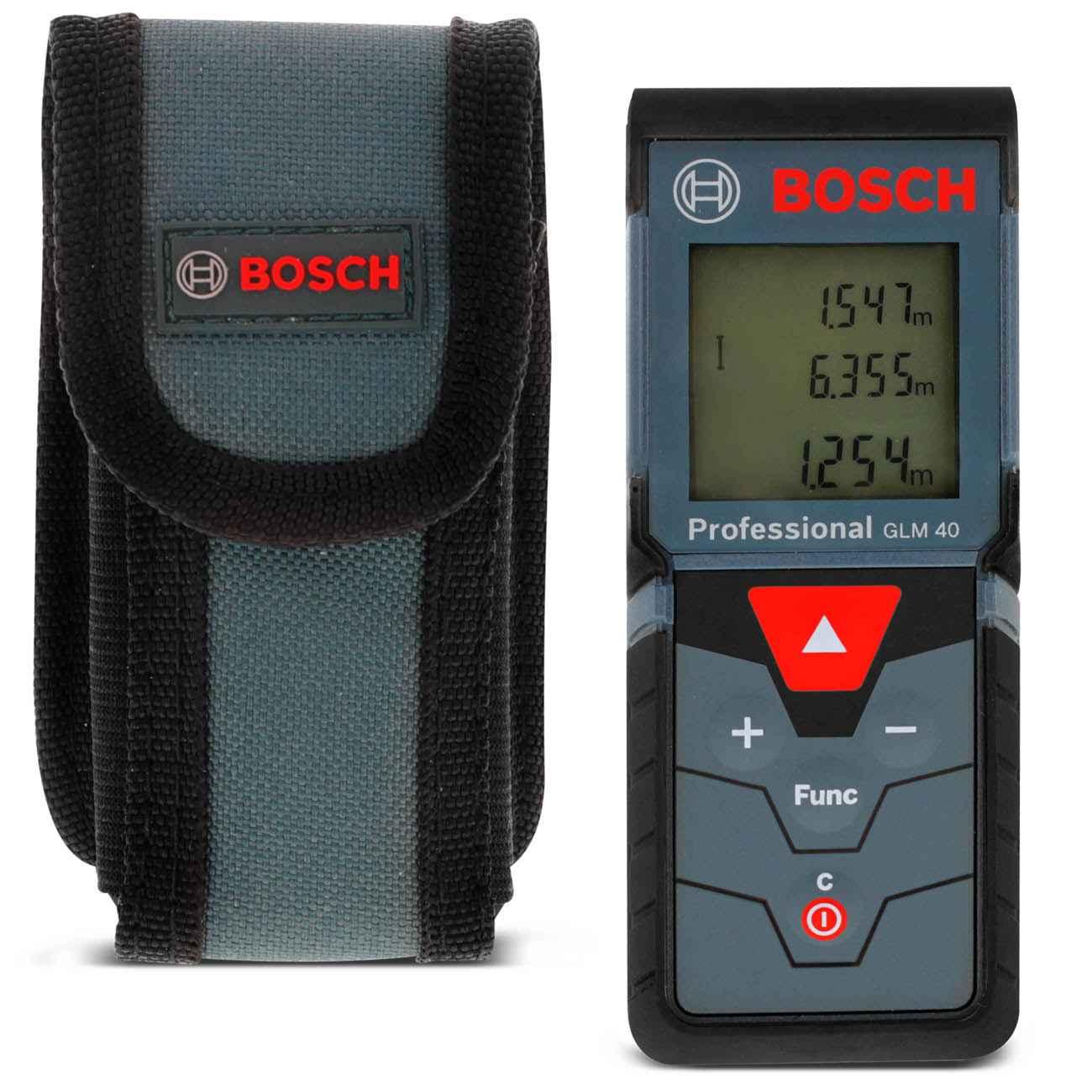 Medidor Trena A Laser 40 Metros Glm40 Profissional Bosch