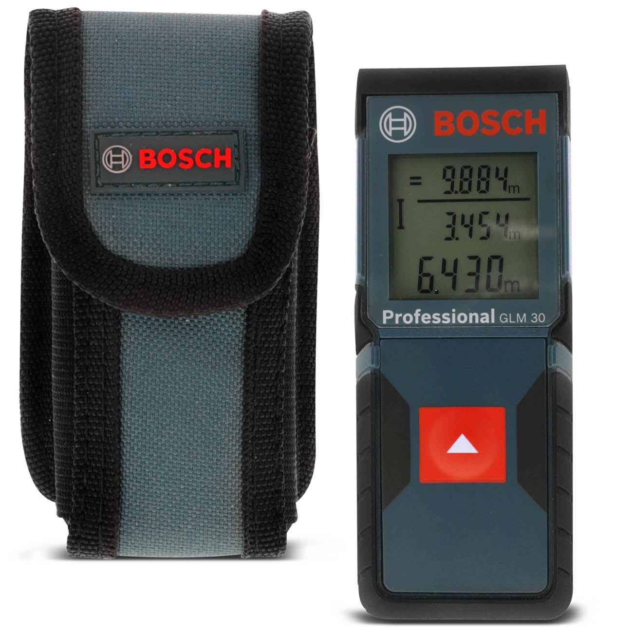 Medidor Trena A Laser 30 Metros Glm30 Profissional Bosch
