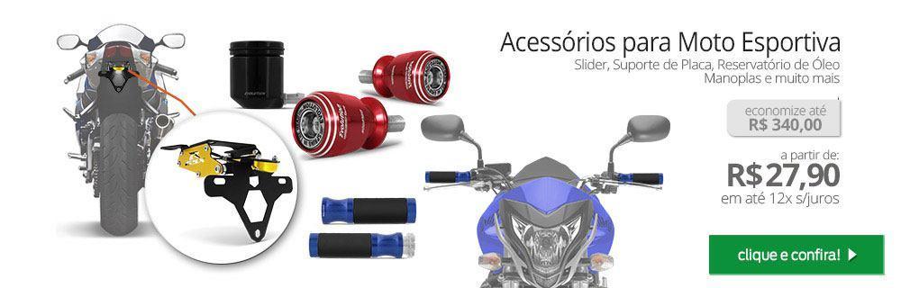 Acessórios para Moto Esportiva