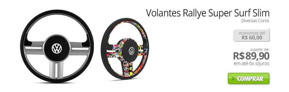 Volantes Rallye Super Surf Slim - Diversas cores