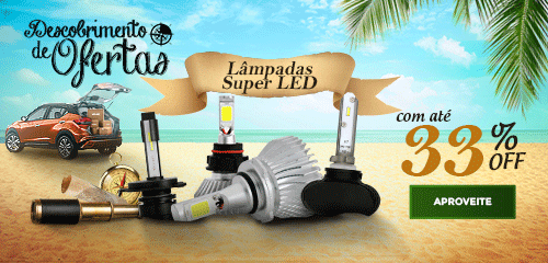 Lâmpadas Super LED