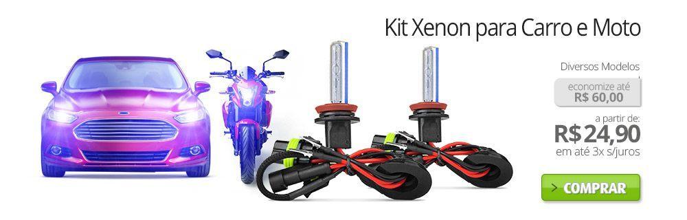 Kit Xenon para Carro e Moto