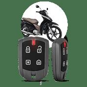 Segurança e Alarme para Moto