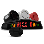 Sensor de Estacionamento e Câmera de Ré