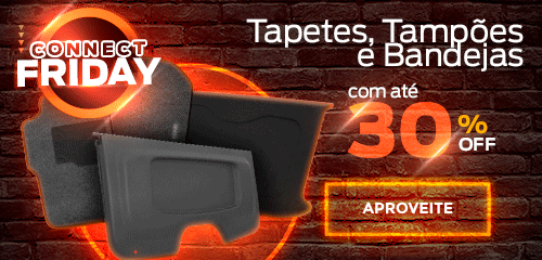 Connect Friday - Tapetes, Tampões e Frisos
