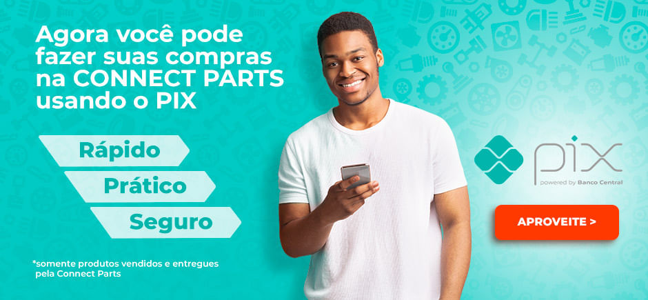 Compre com Pix na Connect Parts