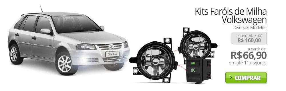 Kits Faróis de Milha Volkswagen