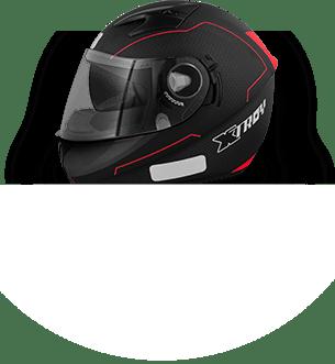 Capacetes para motos