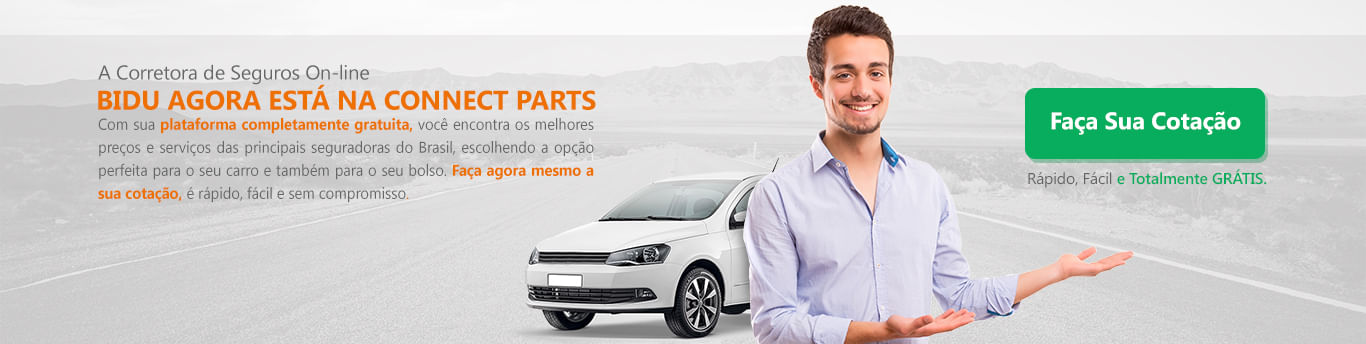 Bidu agora está na Connect Parts