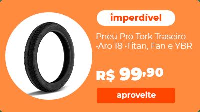 Pneu Moto Aro 18 Titan Fan YBR Pro Tork