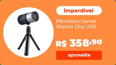 Microfone Gamer Warrior Eloy