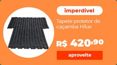 Protetor de Caçamba Toyota Hilux Nova Tapete Anti-impacto