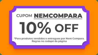 Cupom NEMCOMPARA