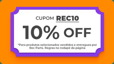 Cupom REC10