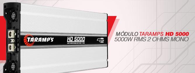 Módulo Taramps HD 5000 - 500W RMS 2 OHMS MONO