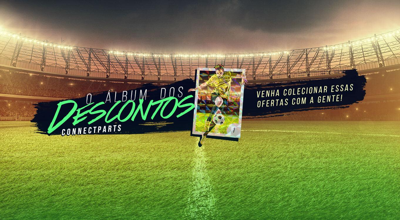 Álbum de figurinhas Copa   Connect Parts - Background