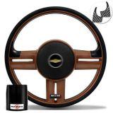 Volante-Shutt-Rallye-Whisky-GTR-Aplique-Preto-e-Carbono---Cubo-Chevette-Chevy-Marajo-73-a-95-connect-parts--1-