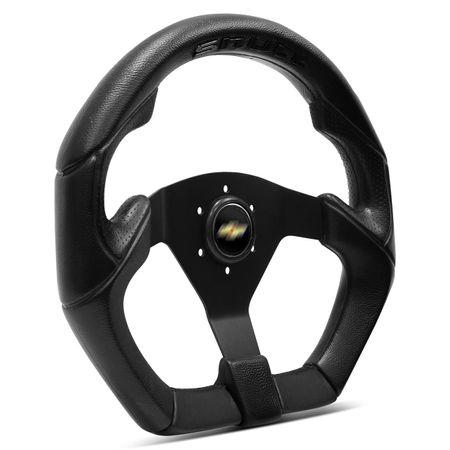 Volante-Shutt-S3R-Basic-Line-Com-Detalhe-Preto-Com-Acionador-Buzina---Cubo-Chevette-Chevy-Marajo-Connect-Parts--2-