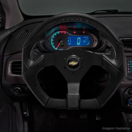 Volante-Shutt-S3R-Basic-Line-Com-Detalhe-Preto-Com-Acionador-Buzina---Cubo-Chevette-Chevy-Marajo-Connect-Parts--5-