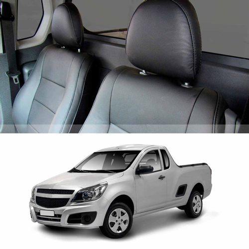 Revestimento-Banco-Couro-Chevrolet-Montana-2011-a-2018-Preto-100por-cento-Couro-Ecologico---8-pecas-connectparts---1-