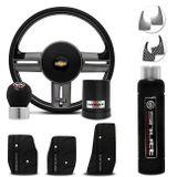 Volante-Shutt-Rallye-Surf-Grafite-Xtreme-Cubo-Chevette-Marajo--kit-Black-connect-parts--1-